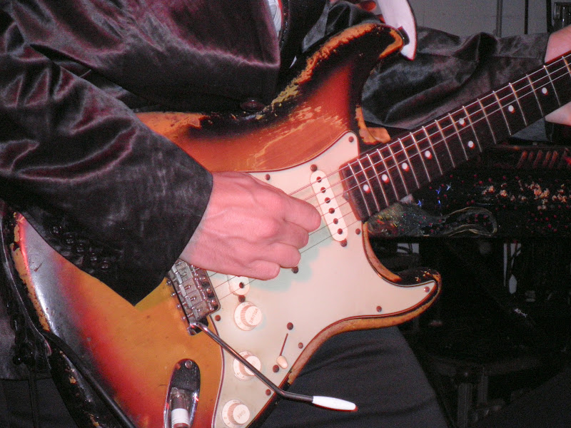 Guitare -M- Matthieu Chedid Stratocaster 1968 Rouge