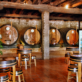 Port wine cellars by Antonio Amen - Buildings & Architecture Other Interior ( port wine, gaia, cellars, portugal, porto )