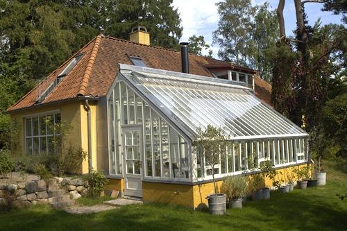 Et af de skønneste drivhuse - Claus Dalby - mit haveliv