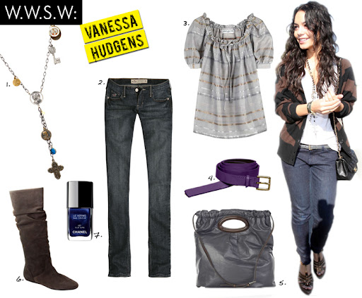 vanessa hudgens style for less. True North Style: December