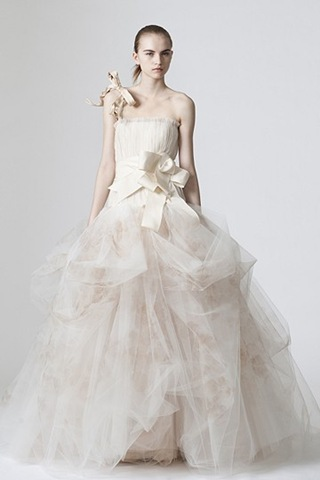 Wedding dresses vera wang spring 2010