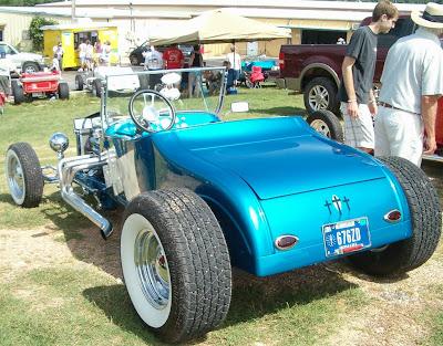 Rear View 1927 T-Bucket Roadster at Buckethead Bash