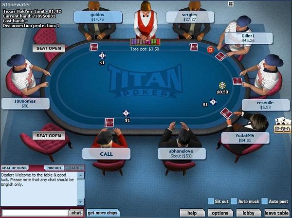 titan table large Poker Online