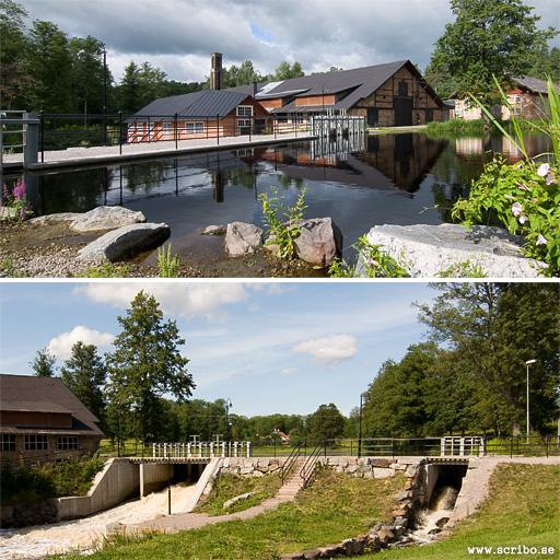 Dammanläggningen vid Vattholma bruk