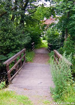 De två broarna i Vattholma som kallas Kinnsbroarna