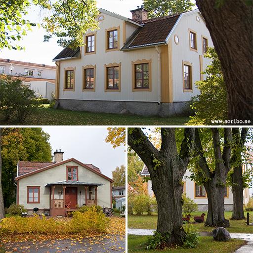 Tre bilder på Valsätra gård