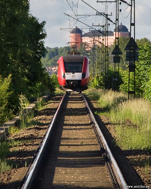 Reginalok med Uppsala Slott i fonden