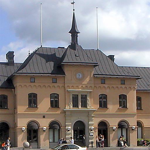 gamla stationshuset i Uppsala