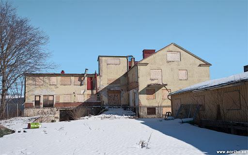 baksidan på vaccinfabriken på Östunagatan