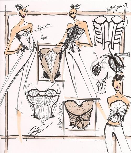 Corset sketches