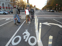 Bikelane at Pennsylvania Ave NW Photo