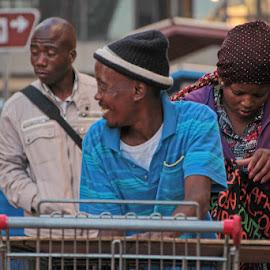 Going Home by Riaan Krog - People Street & Candids ( going home, life, street, smile, street photography )