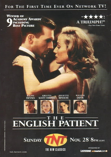 Английский пациент постер The English Patient poster