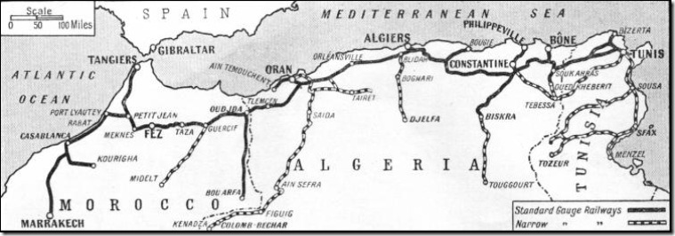 Algerian Railways 1935