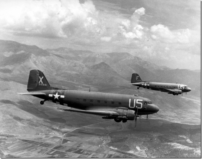"""C-47 """"Skytrains"""""""