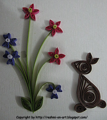 Paper Quilling Instructions Handmade Craft Ideas Quiling