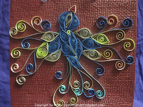 Quilled-Bird-Design