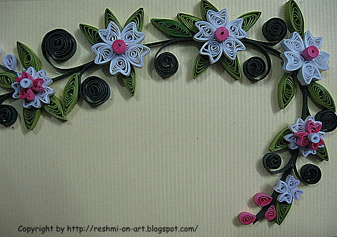 Quilling-Floral-Pattern