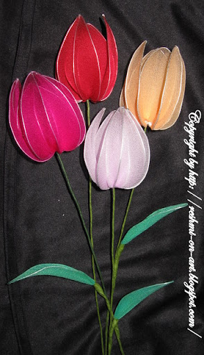 Colourful-stocking-tulip-flowers