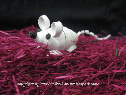 Quilled-mouse