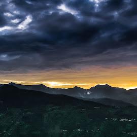 Bijli Mahadev Temple, Kullu, Himachal Pradesh by Anuj Malik - Landscapes Travel ( himachal pradesh, nature, serene, india, hill station, landscapes )