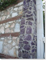 sark stone in wall