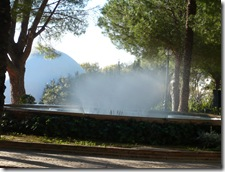 pretty fountain in Mijas