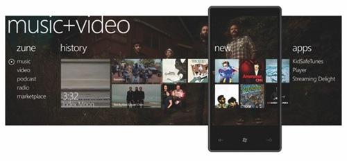 Windows Phone 7 Zune