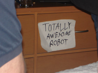 totally awesome robot
