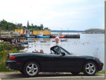 Brenda & Miata @ Fishing Cove