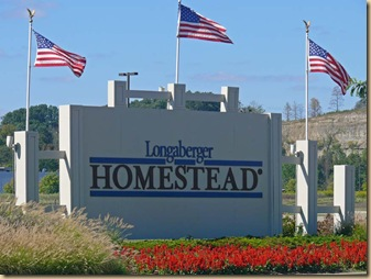 Longaberger Sign