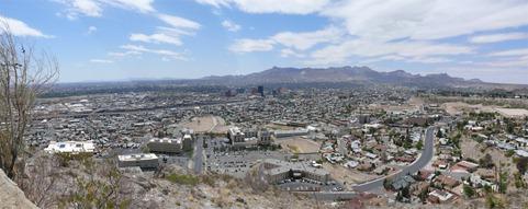 El Paso Panarama