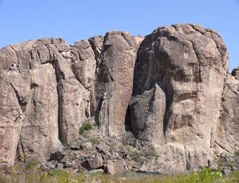 Hueco Mtn Rocks