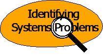 Identifying Systems Problems - စနစ်ဆိုင်ရာ ပြဿနာများကို ဖော်ထုတ်ခြင််း