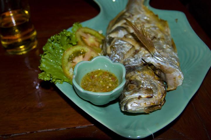 Рыбка гриль, Old Town, Ko Lanta, Thailand