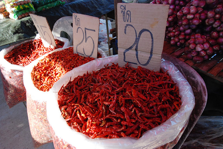 Chilly pepper, Thailand