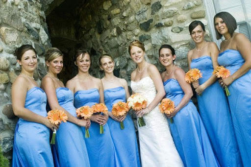 Formal Long Bridesmaid Dresses 2010