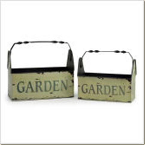 IMAX-2-Piece-Garden-Basket-Set-in-Green