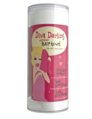 Diva Darling Microfiber Hair Towel