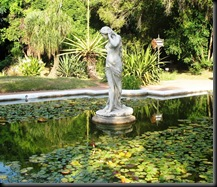 Botanical Garden - Pond with Classical Statue