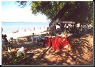 Fortaleza - fra avenyen og ned mot stranden