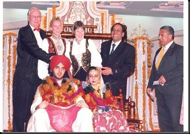 Bryllup - pengeinnsamling