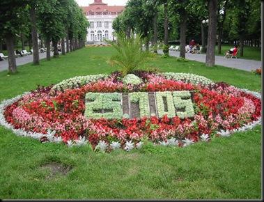 Karlovy Vary - CZ - Blomsterkalender