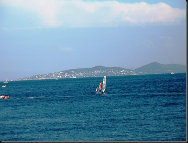 Marmara Beach Walk - Windsurfers
