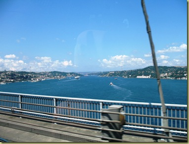 From Asia to Europe - Bosporus