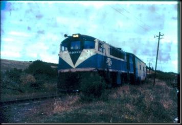 Puerto Montt - tog fra Santiago