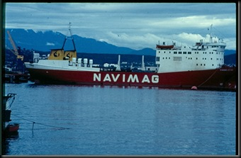 Ship to Antartica from Puerto Montt