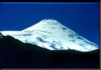 Osornovulkanen på nærmere hold