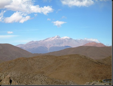 Utsikt fra toppen høyfjell
