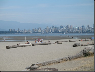 Beach and Skyline